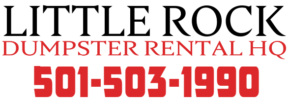 Little Rock dumpster rental services