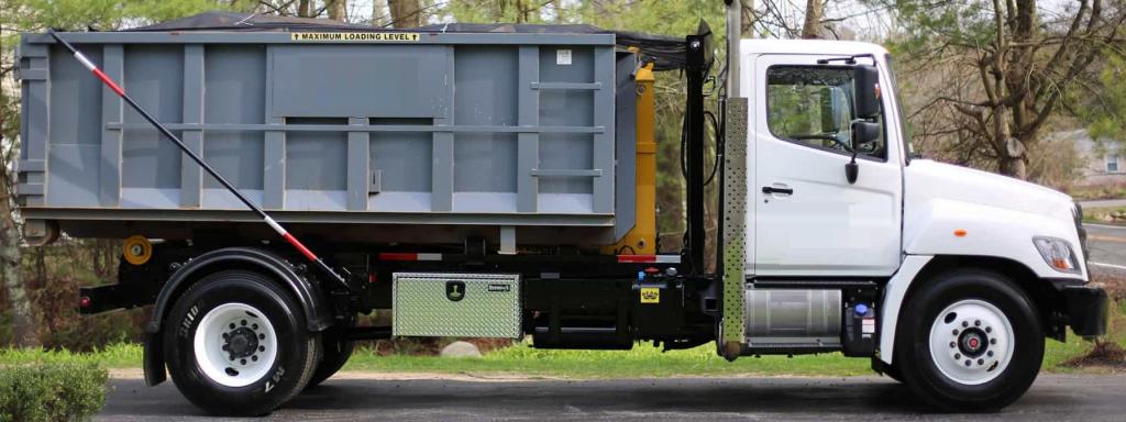 Little Rock dumpster truck