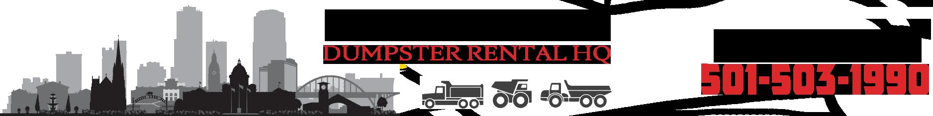 Little Rock Dumpster Rental HQ